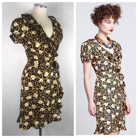 82489b05113 Anthropologie Dresses & Skirts - Hi There Karen Walker Persimmons Dress